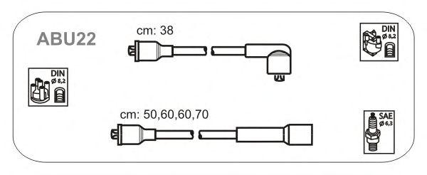 Комплект высоковольтных проводов JANMOR ABU22