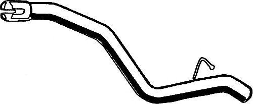 Труба выхлопного газа ASMET 07.214