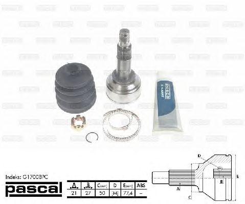 Комплект ШРУСов PASCAL G17008PC