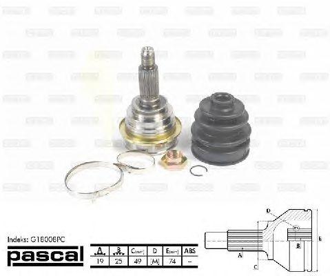 Комплект ШРУСов PASCAL G18008PC
