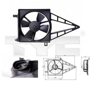 Вентилятор охлаждения TYC 825-0012