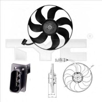 Вентилятор охлаждения TYC 837-0004