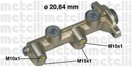 Главный тормозной цилиндр METELLI 05-0187