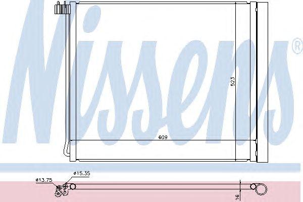 Радиатор кондиционера NISSENS 940339