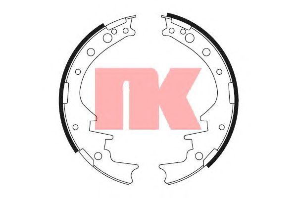 Тормозные колодки NK 2745377