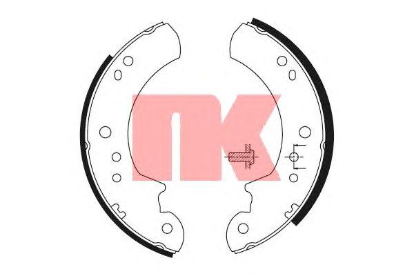Тормозные колодки NK 2725443