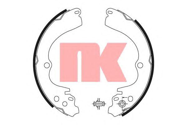 Тормозные колодки NK 2744551