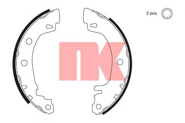 Тормозные колодки NK 2739581