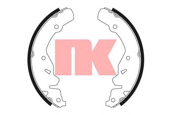 Тормозные колодки NK 2793667