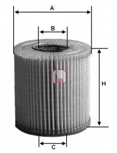 Масляный фильтр SOFIMA S 5001 PE