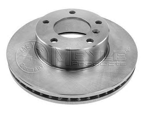 Тормозной диск MEYLE 015 521 0002