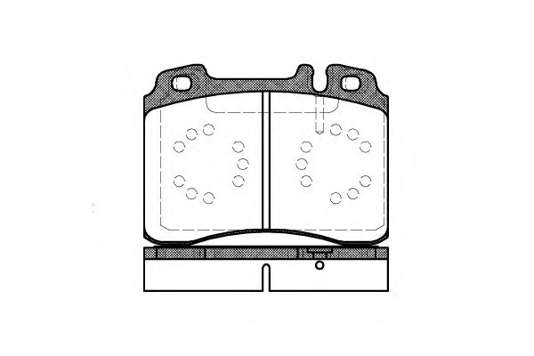 Тормозные колодки REMSA 0379.20