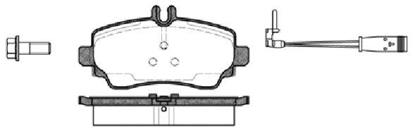 Тормозные колодки REMSA 0650.22