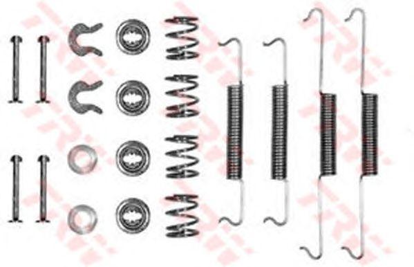 Монтажный комплект тормозных колодок TRW SFK15
