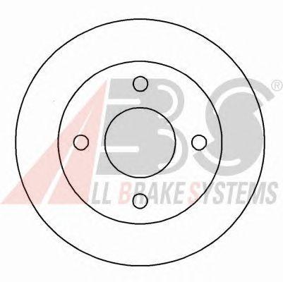 Тормозной диск A.B.S. 16156