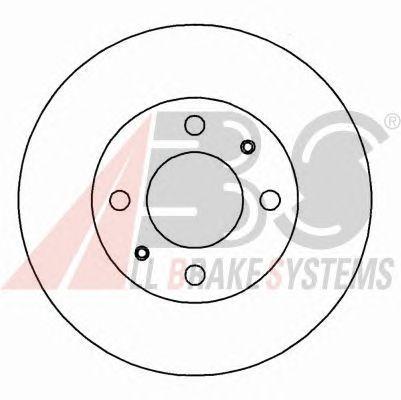 Тормозной диск A.B.S. 16271