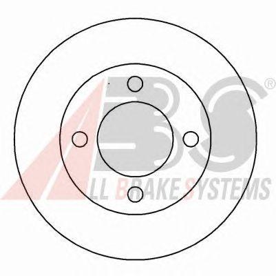 Тормозной диск A.B.S. 16299
