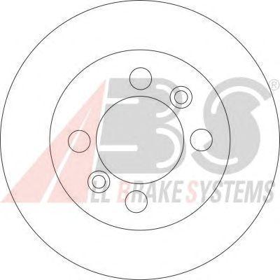 Тормозной диск A.B.S. 16609