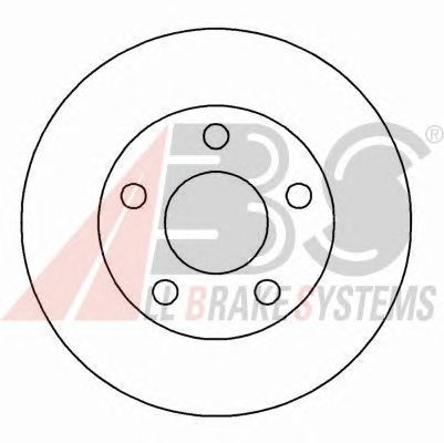 Тормозной диск A.B.S. 16916