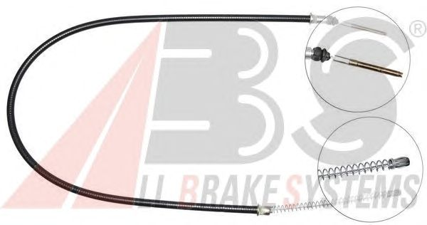 Трос ручника A.B.S. K12598