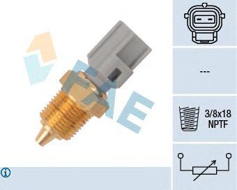 Датчик температуры масла / охлаждающей жидкости FAE 33425