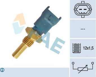 Датчик температуры FAE 33490 (масло, охлаждающая жидкость, топливо)