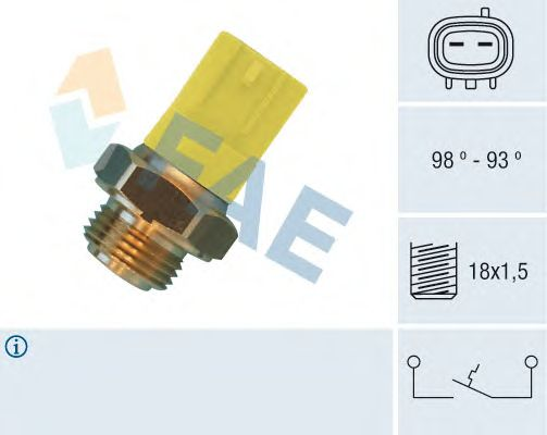 Датчик включения вентилятора FAE 36500