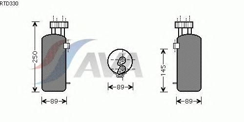 Осушитель кондиционера AVA QUALITY COOLING RTD330