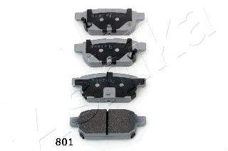 Тормозные колодки ASHIKA 51-08-801