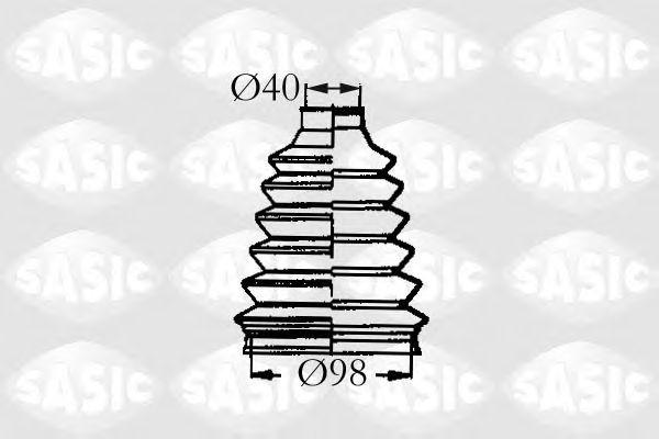 Комплект пыльника ШРУСа SASIC 2933023