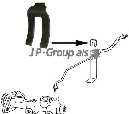 Кронштейн тормозного шланга JP GROUP 8161650100