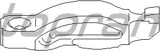 Балансир, управление двигателем TOPRAN 500 695