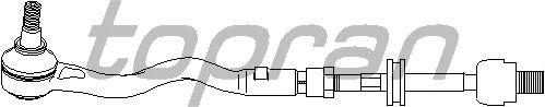 Рулевая тяга TOPRAN 500 442