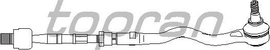Рулевая тяга TOPRAN 500 642