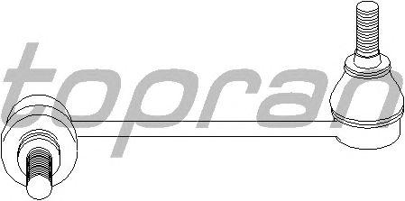 Тяга / стойка стабилизатора TOPRAN 400 067