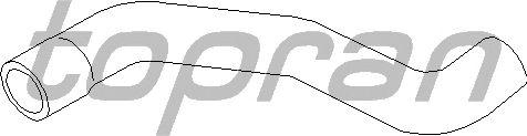 Шланг радиатора TOPRAN 206 708