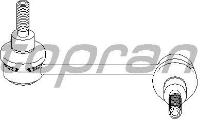 Тяга / стойка стабилизатора TOPRAN 207 148