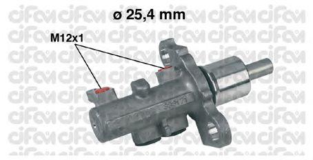 Главный тормозной цилиндр CIFAM 202-402