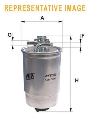 Топливный фильтр WIX FILTERS WF8441