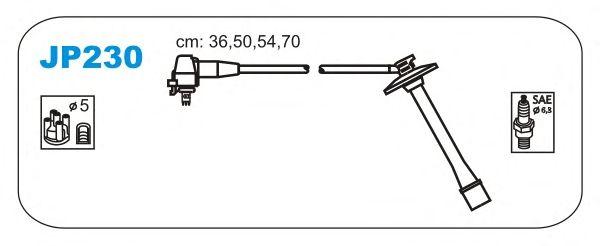 Комплект высоковольтных проводов JANMOR JP230