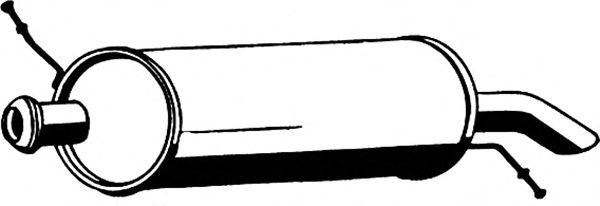 Глушитель ASMET 09.060