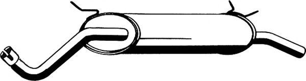 Глушитель ASMET 10.081