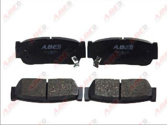 Тормозные колодки ABE C20010ABE