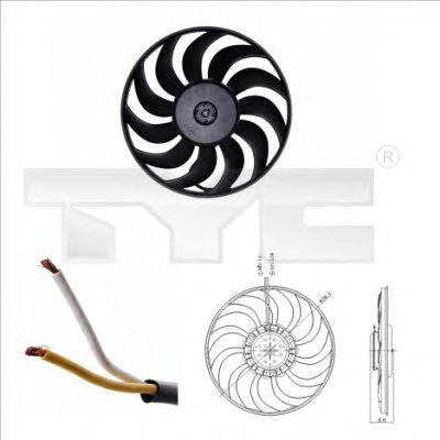 Вентилятор охлаждения TYC 802-0051