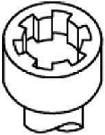 Комплект болтов головки блока цилиндров (ГБЦ) PAYEN HBS371