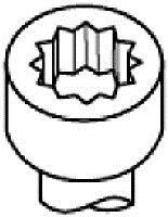 Комплект болтов головки блока цилиндров (ГБЦ) PAYEN HBS509