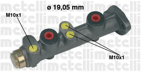Главный тормозной цилиндр METELLI 05-0025