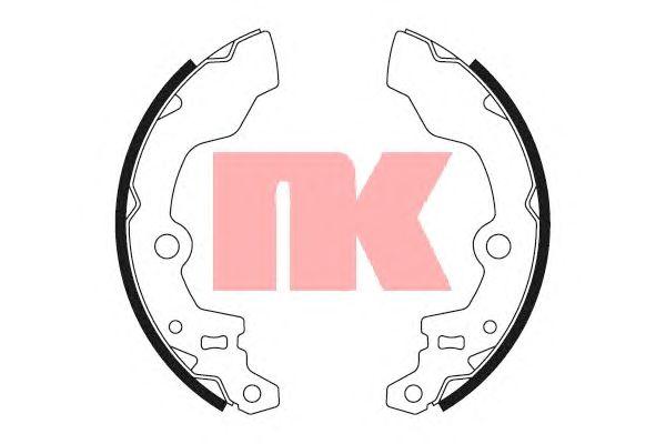 Тормозные колодки NK 2752472
