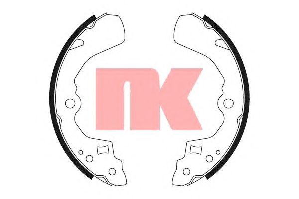 Тормозные колодки NK 2751524