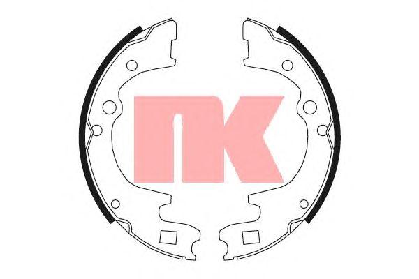 Тормозные колодки NK 2732604